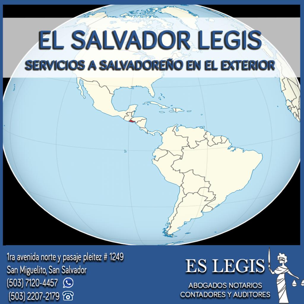 Tramites para salvadoreños en El Exterior