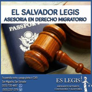 Derecho Migratorio y Extranjería en El Salvador