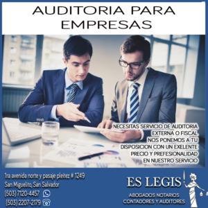 Auditoria Financiera en El Salvador